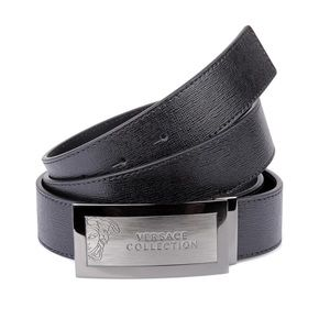 NEW VERSACE COLLECTION LEATHER BELT